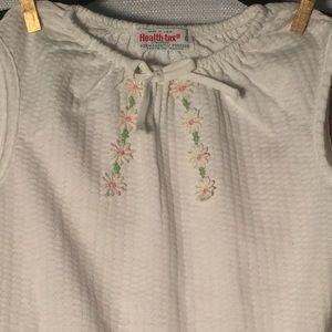 healthtex Matching Sets - Health-Tex Vintage Floral Embellished Short Set